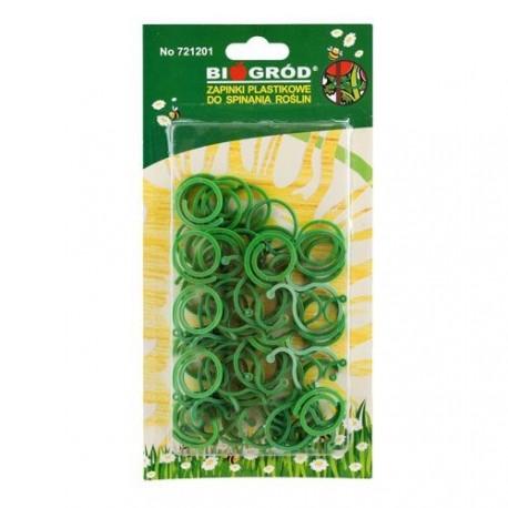 Zapinki plastikowe do roślin 50szt 2 rodzaje