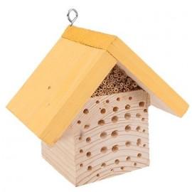 Domek dla pszczół kwadratowy żółty
