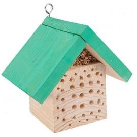 Domek dla pszczół kwadratowy zielony