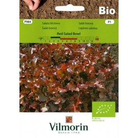 Vilmorin BIO Sałata liściowa Red Salad Bowl 0.5g