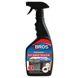 BROS Preparat do śmietników na muchy i larwy 500ml