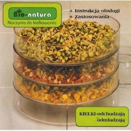Kiełkownica 3 poziomy Bio-natura