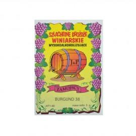 Drożdże winiarskie Burgund38