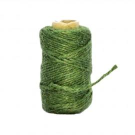 Sznurek jutowy zielony 10dkg