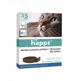 Obroża dla kota przeciw pchłom Happs