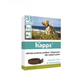 Obroża dla psów przeciw pchłom i kleszczom 35cm Happs