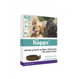 Obroża dla psów przeciw pchłom i kleszczom 60cm Happs