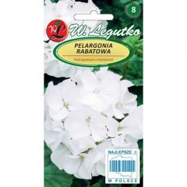 LG Pelargonia rabatowa GamaF1 biała 0,05g