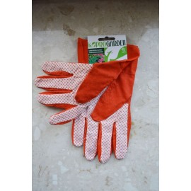 Rękawice ogrodowe pomarańczowe 7