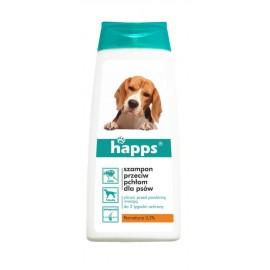 Happs Szampon przeciw pchłom dla psów