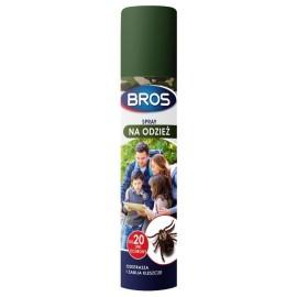 Bros Spray na kleszcze na odzież 90ml