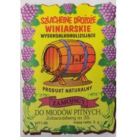 Drożdże winiarskie do miodów pitnych