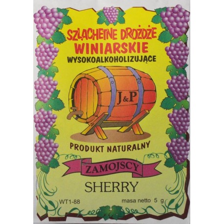 Drożdże winiarskie Sherry
