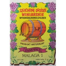 Drożdże winiarskie Malaga