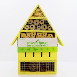 Budka dla owadów pożytecznych zielona