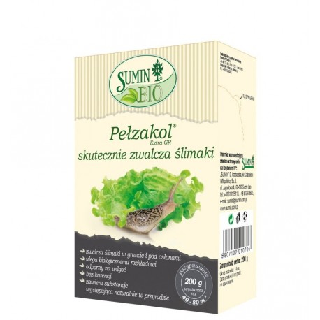 Pełzakol Extra GR 200g SuminBio zwalcza ślimaki