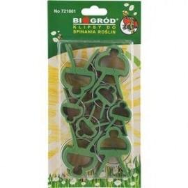 Klipsy do spinania roślin 20szt Biogród 721001