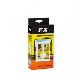 Moskitiera do okna FX130x150 czarna