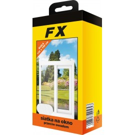 Moskitiera do okna FX130x150 biała