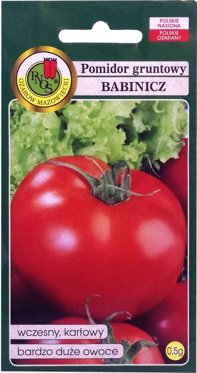 Znalezione obrazy dla zapytania pnos pomidor babinicz