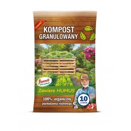 Florovit Kompost granulowany 10l ProNatura