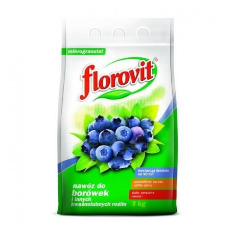 FLOROVIT Nawóz do borówek 3kg