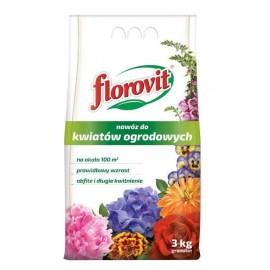 FLOROVIT Nawóz do kwiatów ogrodowych 3kg