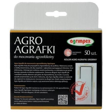 Agrafki do agrowłókniny Agrimpex 50szt