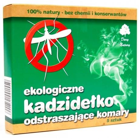 Kadzidełko odstraszające komary EKO 5szt Dary Natury
