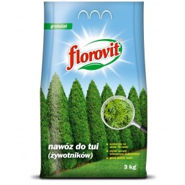 FLOROVIT Nawóz do tui 3kg