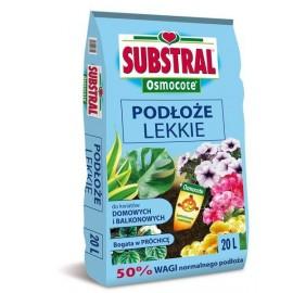 Substral Osmocote Podłoże Lekkie do kwiatów domowych i balkonowych 20l
