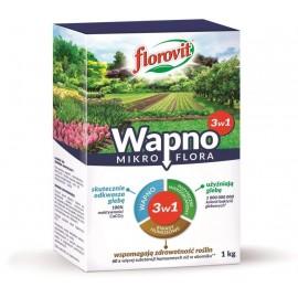 Florovit wapno granulowane Mikroflora 3w1 1kg