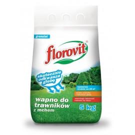 Wapno do trawników 5kg Florovit