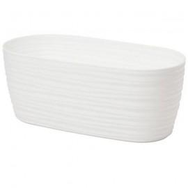 Skrzynka sahara petit 27 biała z podstawką