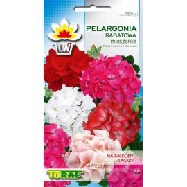 TORAF Pelargonia rabatowa mix 25nasion
