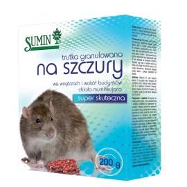 Trutka gryzoniobójcza granulat 1kg Sumin