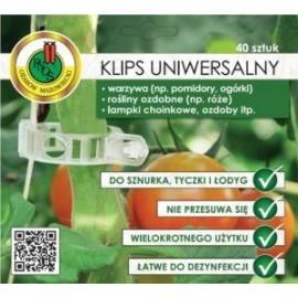 Klipsy uniwersalne 40szt zapinki do pomidorów