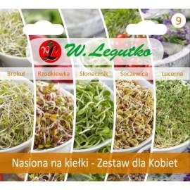 LG Kolekcja nasion na kiełki Zestaw dla Kobiet
