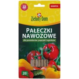 ZD Pałeczki nawozowe do pomidorów, papryki i ogórków 20szt