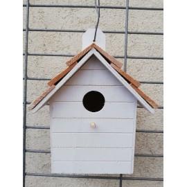 Domek dla ptaków biały K170795