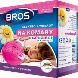 Bros Elektro + wkłady na komary dla dzieci