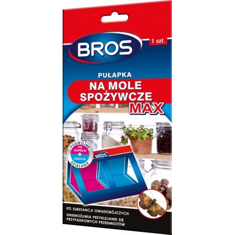 Bros Pułapka na mole spożywcze MAX 1szt
