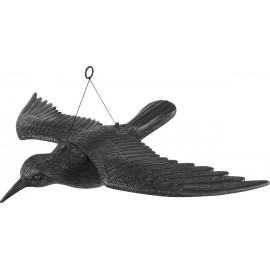 Kruk z rozpostartymi skrzydłami odstraszacz ptaków 731005