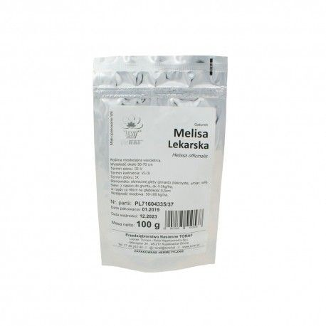 TORAF Melisa lekarska miododajna 100g Duża paczka