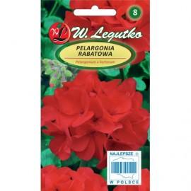 LG Pelargonia rabatowa Gama czerwona 0.05g