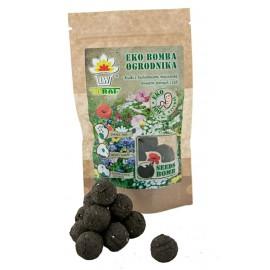 TORAF Eko Bomba Ogrodnika kulki z biohumusu i nasion kwiatów i ziół 8szt