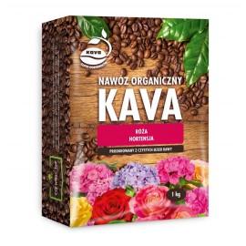 KAVA Nawóz organiczny sypki róża, hortensja 1kg