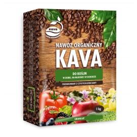 KAVA Nawóz organiczny granulowany do roślin 1kg