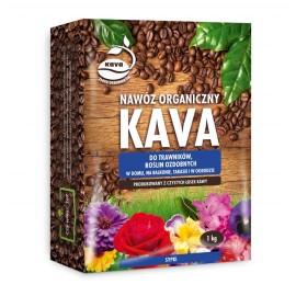 KAVA Nawóz organiczny sypki do trawników i roślin ozdobnych 1kg