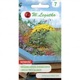 LG Mix jednorocznych i wieloletnich roślin na dachy 3g
